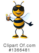 Male Bee Clipart #1366481 by Julos