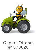 Male Bee Clipart #1370820 by Julos