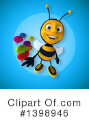 Male Bee Clipart #1398946 by Julos