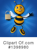 Male Bee Clipart #1398980 by Julos