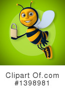 Male Bee Clipart #1398981 by Julos