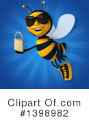 Male Bee Clipart #1398982 by Julos