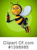 Male Bee Clipart #1398985 by Julos