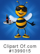 Male Bee Clipart #1399015 by Julos
