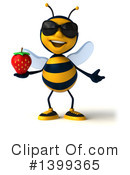 Male Bee Clipart #1399365 by Julos