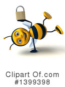Male Bee Clipart #1399398 by Julos