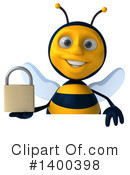Male Bee Clipart #1400398 by Julos