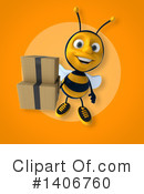 Male Bee Clipart #1406760 by Julos