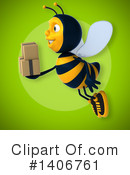 Male Bee Clipart #1406761 by Julos