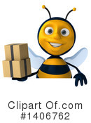 Male Bee Clipart #1406762 by Julos