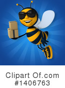 Male Bee Clipart #1406763 by Julos