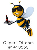 Male Bee Clipart #1413553 by Julos