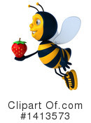 Male Bee Clipart #1413573 by Julos