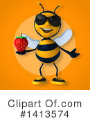 Male Bee Clipart #1413574 by Julos