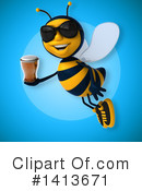 Male Bee Clipart #1413671 by Julos