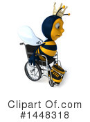Male Bee Clipart #1448318 by Julos