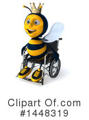 Male Bee Clipart #1448319 by Julos