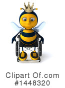 Male Bee Clipart #1448320 by Julos