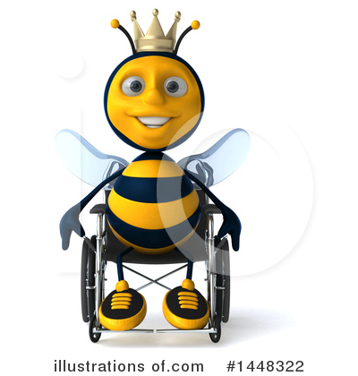Male Bee Clipart #1448322 by Julos