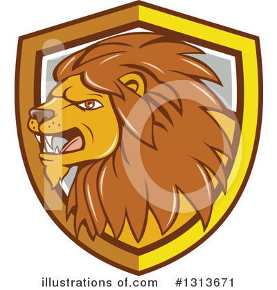 Lion Clipart #1313671 by patrimonio