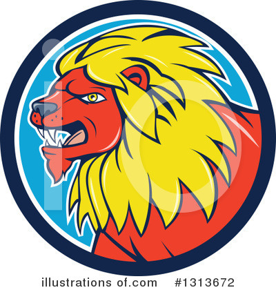 Lion Clipart #1313672 by patrimonio