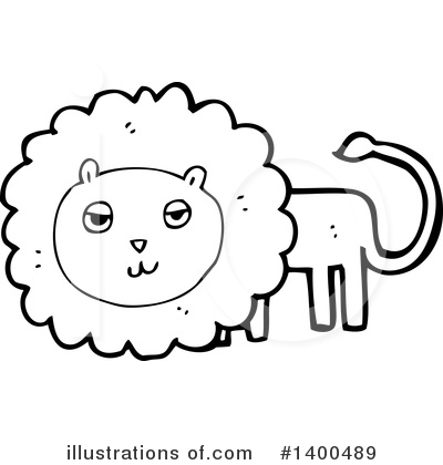 Lion Clipart #1400489 by lineartestpilot