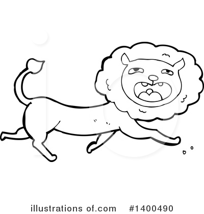 Lion Clipart #1400490 by lineartestpilot