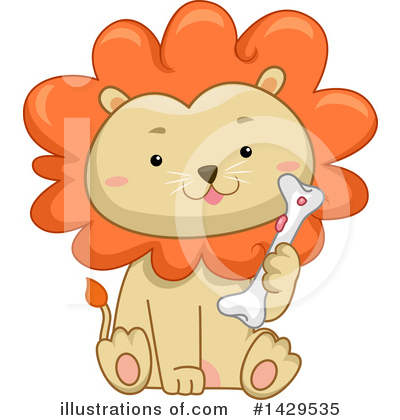 Lion Clipart #1429535 by BNP Design Studio