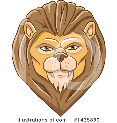 Lion Clipart #1435369 by cidepix