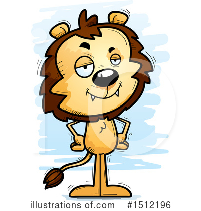Lion Clipart #1512196 by Cory Thoman