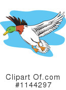 Royalty-Free (RF) Mallard Clipart Illustration #1144297