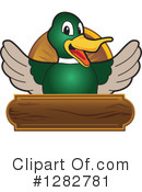 Mallard Duck Clipart #1282781 by Toons4Biz