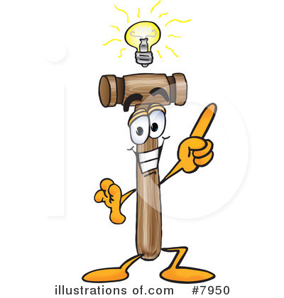 Mallet Clipart #7950 by Toons4Biz