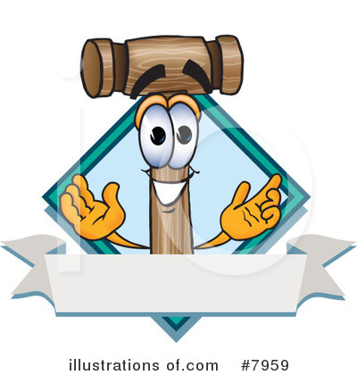 Mallet Clipart #7959 by Toons4Biz