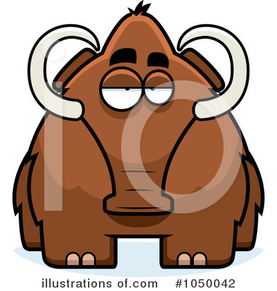 Woolly Mammoth Clipart #1050042 by Cory Thoman