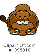 Mammoth Clipart #1098310 by Cory Thoman