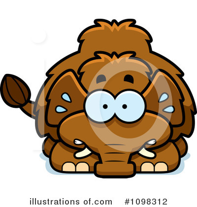 Mammoth Clipart #1098312 by Cory Thoman
