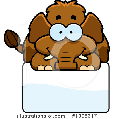 Mammoth Clipart #1098317 by Cory Thoman
