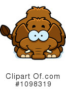 Royalty-Free (RF) Mammoth Clipart Illustration #1098319