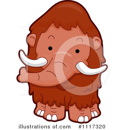 Mammoth Clipart #1117320 by BNP Design Studio