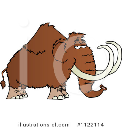 Mammoth Clipart #1122114 by Hit Toon