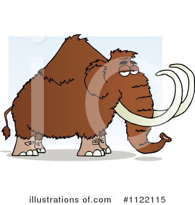 Mammoth Clipart #1122115 by Hit Toon