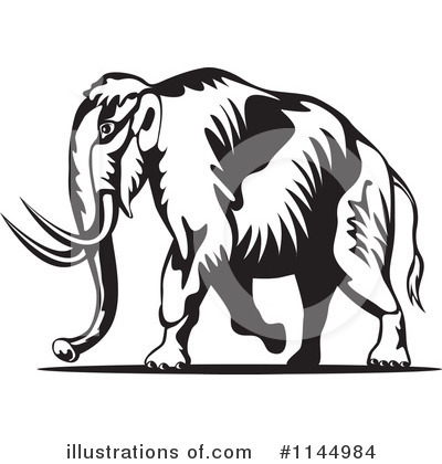 Mammoth Clipart #1144984 by patrimonio