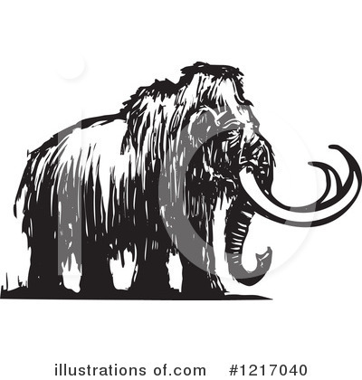 Mammoth Clipart #1217040 by xunantunich