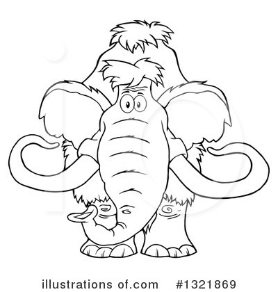 Mammoth Clipart #1321869 by Hit Toon