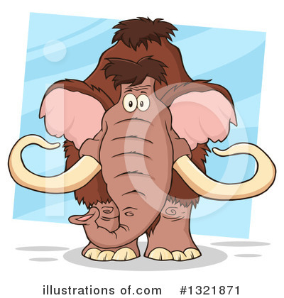 Mammoth Clipart #1321871 by Hit Toon