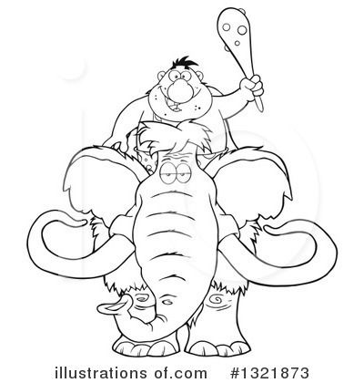 Mammoth Clipart #1321873 by Hit Toon