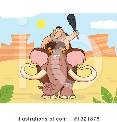 Mammoth Clipart #1321876 by Hit Toon