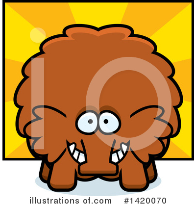 Mammoth Clipart #1420070 by Cory Thoman
