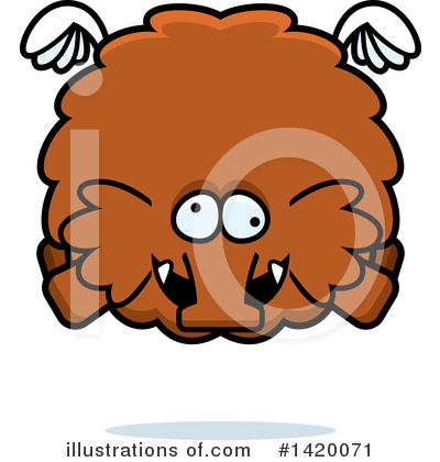 Mammoth Clipart #1420071 by Cory Thoman